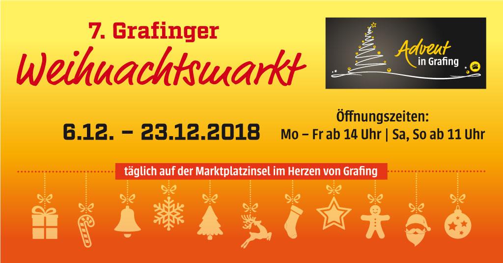 Grafinger Weihnachtsmarkt 2018
